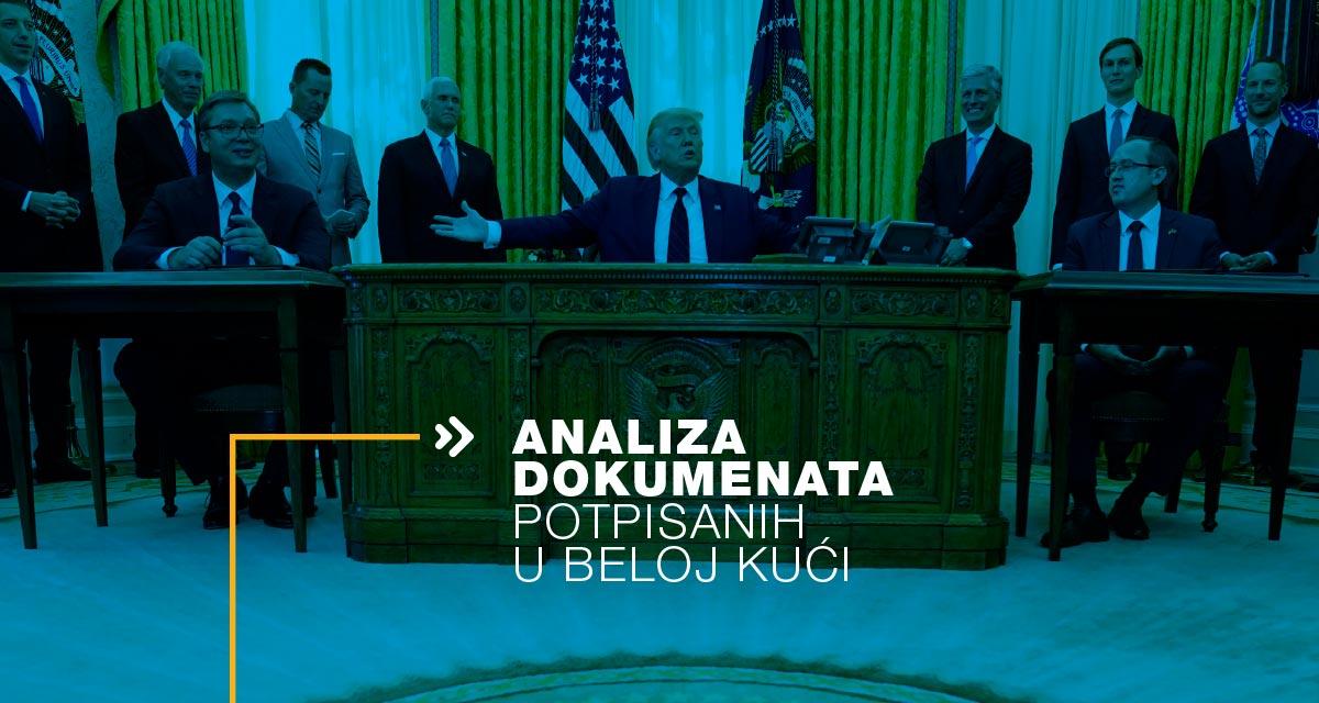 Analiza dokumenata potpisanih u Beloj kući